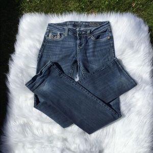 Grace Jeans - Grace in LA Jeweled Jeans Easy Fit